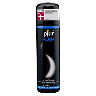 Pjur Aqua, 250 мл Сверхмягкий увлажняющий лубрикант lelo personal moisturizer 75 мл увлажняющий лубрикант на водной основе