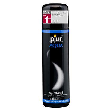 Pjur Aqua, 250 мл Сверхмягкий увлажняющий лубрикант pjur basic waterbased 100 мл смазка на водной основе