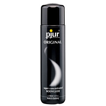 Pjur Original, 100 мл Концентрированный силиконовый лубрикант avanua daiva black