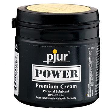 Pjur Power, 150 мл Расслабляющий анальный крем лубрикант для фистинга pjur power 150 мл