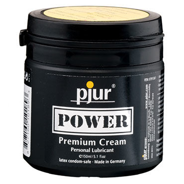 Pjur Power, 150 мл Расслабляющий анальный крем gaga натуральный брюнет
