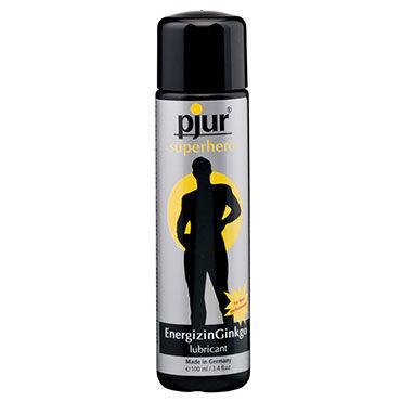 Pjur Superhero Lubricant, 100 мл Лубрикант, усиливающий эрекцию анальные втулки для мужчин you2toys