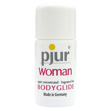 Pjur Woman Body Glide, 10 мл Силиконовый лубрикант для женщин анальный стимулятор small bubble plug синий