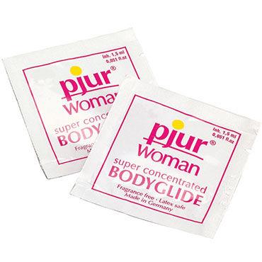 Pjur Woman Body Glide, 2 мл Силиконовый лубрикант для женщин pjur женский бережный лубрикант pjurnude 30 мл
