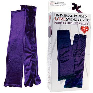 Topco чехлы, фиолетовые Бархатистые, для любовных качелей topco чехлы леопардовые бархатистые для любовных качелей
