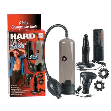 California Exotic Hard Mans Tool Kit Набор для мужского удовольствия набор 5 предметов nature skin lovers kit
