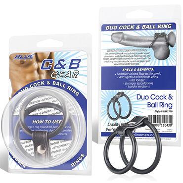 Blue Line эрекционное кольцо На пенис и мошонку стальное эрекционное кольцо blue line 5 см