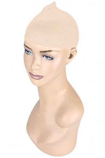 Erotic Fantasy сетка для волос, телесная Аксессуар для парика ouch reversible collar with wrist