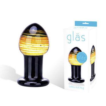 Glas Galileo Стеклянная анальная пробка анальная пробка стеклянная crystal delight short stem с хвостом из меха кролика на магните pink