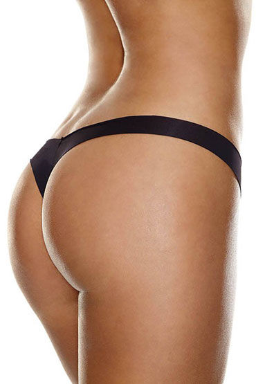Hollywood Curves Invisible Thong, черные