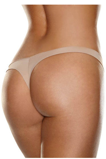 Hollywood Curves Invisible Thong, телесные