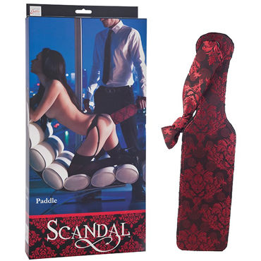 California Exotic Scandal Paddle Роскошная элегантная шлепалка california exotic scandal bull whip кнут с петлей