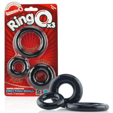 Screaming O Ringo Набор из трех эрекционных колец