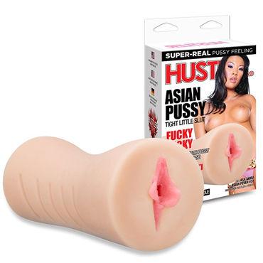 Hustler Asian Pussy Мастурбатор-вагина страстной азиатки презервативы contex colour 3 шт
