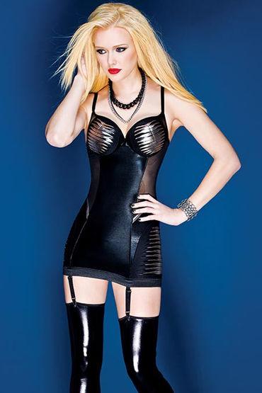 Coquette мини-платье С серебристыми вставками л coquette платье