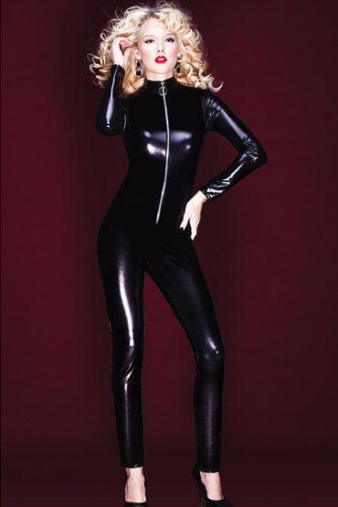 Coquette кэтсьюит С мокрым блеском anne d ales dernier tango черное откровенное мини платье
