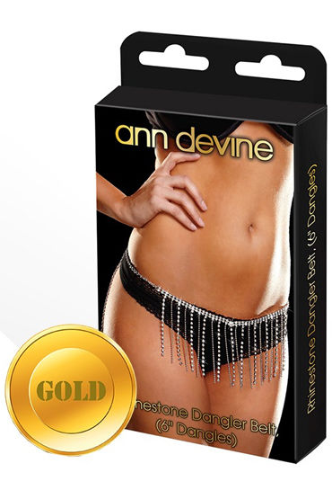 Ann Devine Dangler Belt, золотой