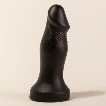 Bioclon Анальный стимулятор, черный В форме пениса анальная стимуляция женщин bioclon