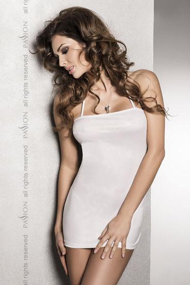 Passion Beltis White Сексуальное платье с открытой спиной ns novelties jelly rancher ripple t plug фиолетовая анальная пробка