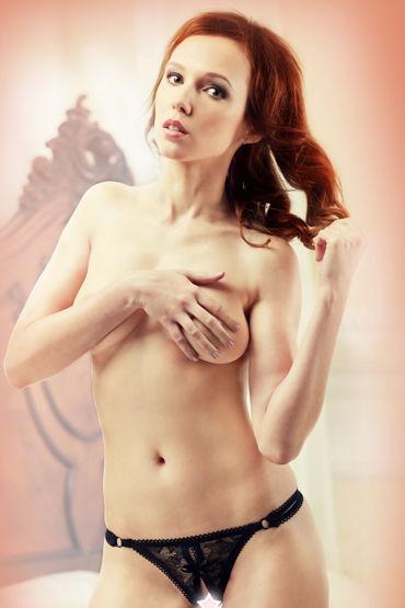 Lola Nicole Ажурные стринги с откровенным вырезом lola violet kerr