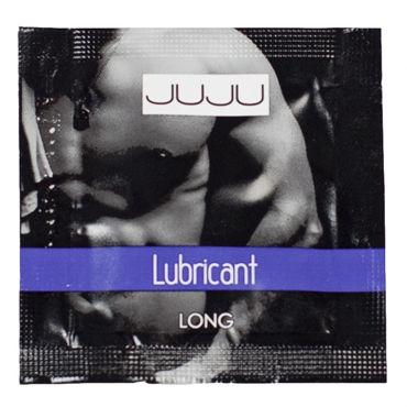JuJu Lubricant Long, саше 3мл Пролонгирующий лубрикант gopaldas mystic treasures розовый набор из вибратора шариков и кольца