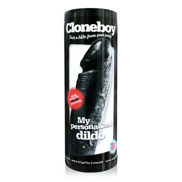 Cloneboy My Personalized Dildo, черный Набор скульптора для создания копии фаллоса боди obsessive charms teddy white размер l xl
