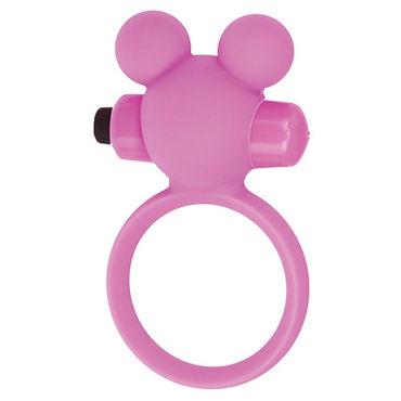 Toyz4lovers Silicone Teddy, розовое Эрекционное виброкольцо fun factory calice розовый компактный перезаряжаемый вибратор для стимуляции точки g