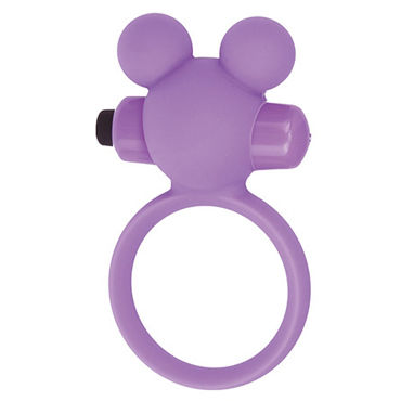 Toyz4lovers Silicone Teddy, розовое Эрекционное виброкольцо allure lingerie faux leather deep v neck teddy