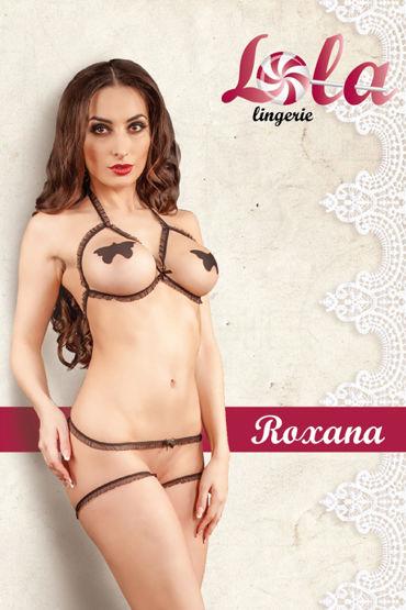 Lola Roxana Комплект откровенного белья фаллоимитатор реалистичный 6 чёрный