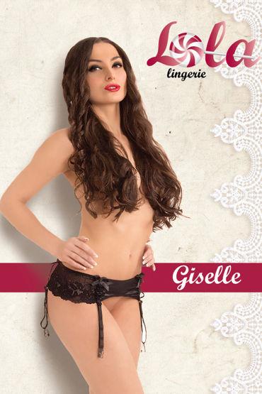 Lola Giselle Кружевной пояс для чулок casmir ashley set лиф трусики и пояс для чулок