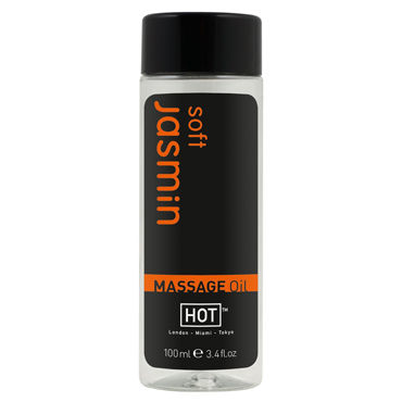 Hot Soft Jasmin, 100мл Массажное масло для тела viva презервативы ребристые 12 шт
