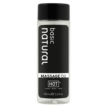 Hot Basic Natural, 100мл Массажное масло для тела стимулятор клитора many agents av