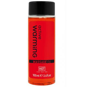 Hot Active Warming, 100мл Массажное масло для тела с разогревающим эффектом hot cilitoris creme stimulating 30мл стимулирующий крем для женщин