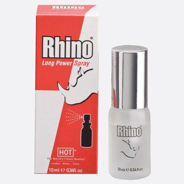 Hot Rhino Long Power Spray, 10мл Продлевающий спрей для мужчин baile big man iii телесная насадка реалистик удлиняющая