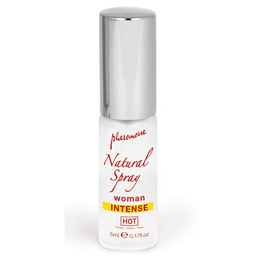 Hot Naturale Spray Woman Intense, 5мл Спрей с феромонами, женский hot naturale spray woman intense 5мл спрей с феромонами женский