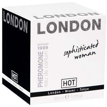 Hot London Sophisticateds Woman, 30мл Женские духи с феромонами hot naturale spray woman intense 5мл спрей с феромонами женский
