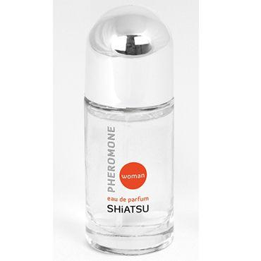 Shiatsu Pheromone Woman, 15мл Духи с феромонами для женщин духи sexy life духи pheromone 85