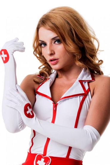 Le Frivole Перчатки Для образа медсестры le frivole перчатки для образа медсестры