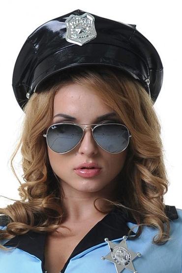 Le Frivole Фуражка с кокардой Для образа строгого копа le frivole фуражка для образа строго полицейского
