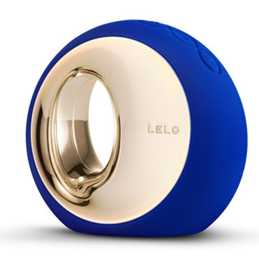 Lelo Ora 2, синий Инновационный стимулятор, имитирующий оральные ласки casmir dallas set черный бюстгальтер пояс и трусики