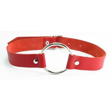 BDSM Арсенал кляп-кольцо, красный С пряжкой кляп scandal bar gag