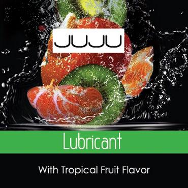 JuJu Lubricant Съедобный, саше 3мл Со вкусом тропических фруктов juju lubricant съедобный 100мл со вкусом тропических фруктов
