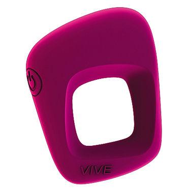 Shots Toys Vive Senca, розовое Эрекционное виброкольцо shots toys sono chain cockring 4 черное эрекционное кольцо