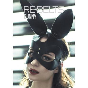 Rebelts Bunny БДСМ-маска, кролик трусики soft line с доступом и бантиком белые m l
