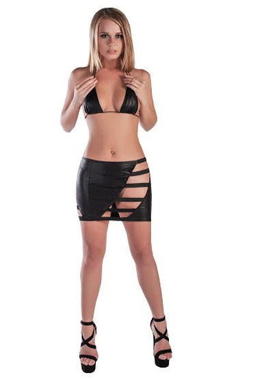 Mens Dreams Эротический комплект Юбка с лентами и лиф mens dreams эротический комплект контактная юбка и лиф