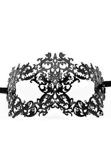 Ouch Forrest Queen Masquerade Mask, черная Маска на глаза в венецианском стиле yeduo black sexy lady lace mask for masquerade halloween party fancy dress costume
