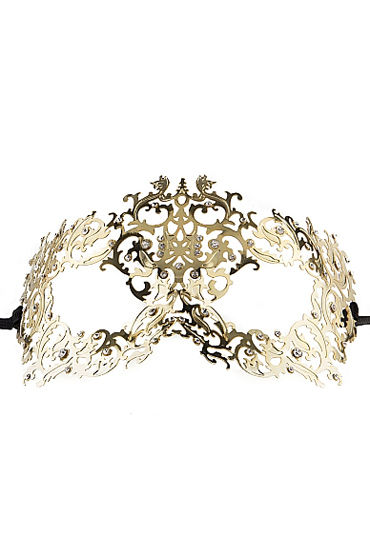 Ouch Forrest Queen Masquerade Mask, золотая Маска на глаза в венецианском стиле yeduo black sexy lady lace mask for masquerade halloween party fancy dress costume