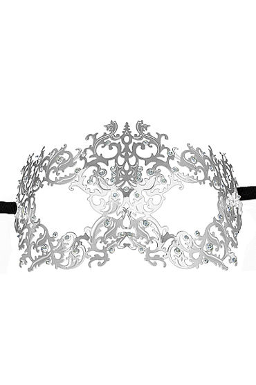 Ouch Forrest Queen Masquerade Mask, серебристая Маска на глаза в венецианском стиле 10pcs lot ar8033 al1a ar8033 good qualtity hot sell free shipping buy it direct