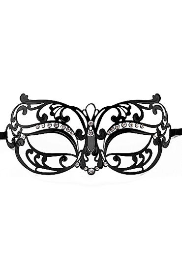 Ouch Tribal Masquerade Mask, черная Маска на глаза в венецианском стиле yeduo black sexy lady lace mask for masquerade halloween party fancy dress costume