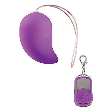 Shots Toys Vibrating G-spot Egg Small, оранжевое Виброяйцо с загнутым кончиком вибраторы реалистики mif ua com